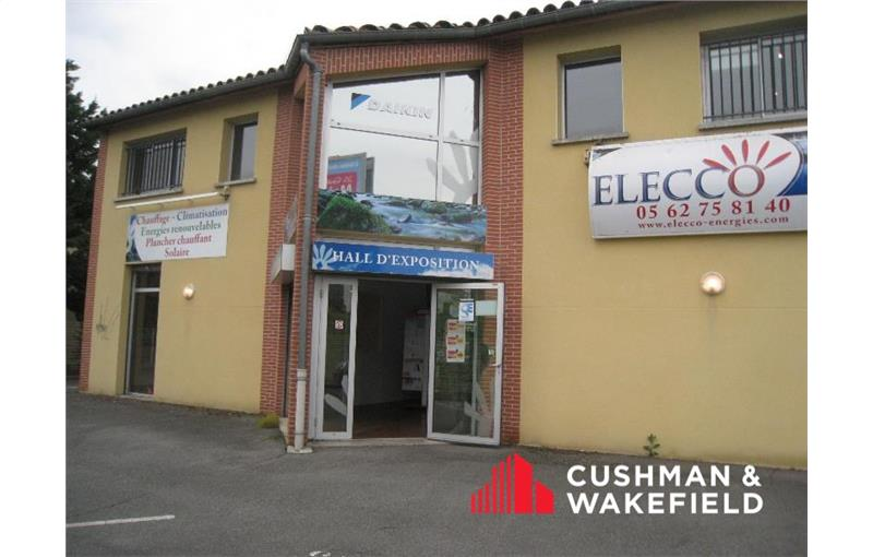 Location local commercial 94 m² non divisibles